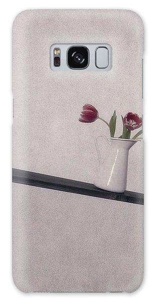 Vase Of Flowers Galaxy Case - Unbalanced Flowers by Joana Kruse