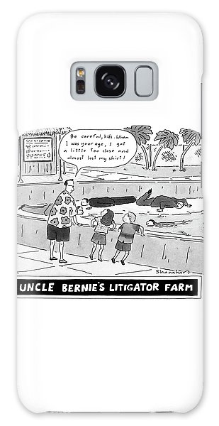 Uncle Bernie's Litigator Farm Be Careful Galaxy S8 Case