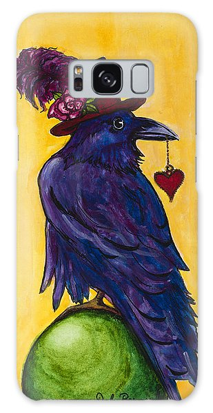 Uncommon Raven Love 1 Galaxy Case