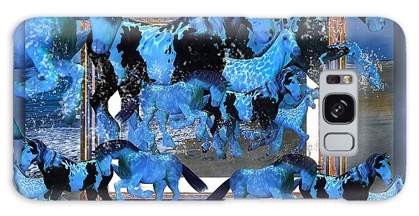 Framing Galaxy Case - Unconfined World Confined by Betsy Knapp