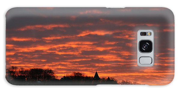 Under A Blood Red Sky Galaxy Case by Neal Eslinger