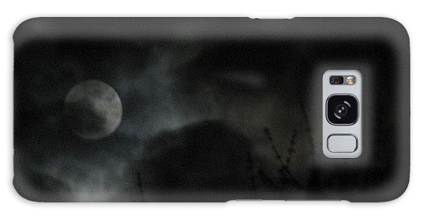 Under A Metal Moon Galaxy Case