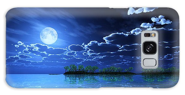 Under A Silvery Moon... Galaxy Case