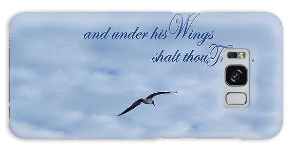 Under His Wings Galaxy Case