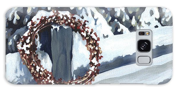 Under Snow 2 Galaxy Case by Natasha Denger