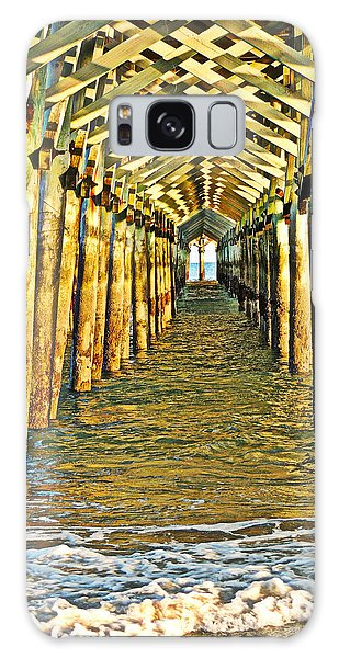Under The Boardwalk - Hdr Galaxy Case by Eve Spring