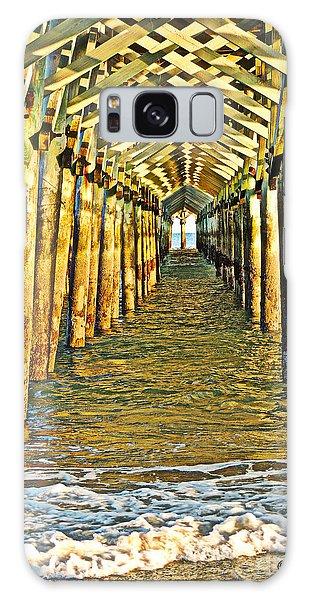 Under The Boardwalk - Hdr Galaxy Case