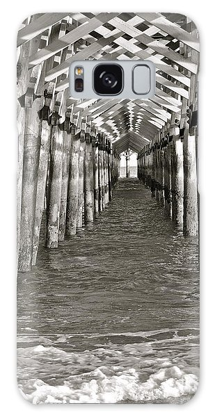 Under The Boardwalk - B/w Galaxy Case