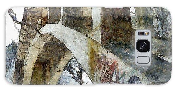 Under The Bridge  Galaxy Case by Janine Riley