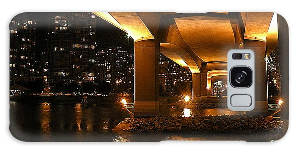 Under The Cambie Street Bridge Galaxy Case by Brian Chase