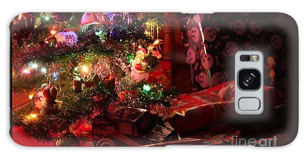Under The Christmas Tree Galaxy Case