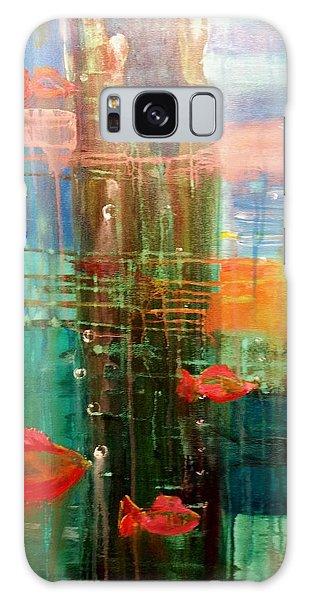 Under The Dock Galaxy Case by Renate Nadi Wesley