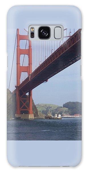 Under The Golden Gate - San Francisco Golden Gate Bridge 2006 - Scenic Photography - Ai P. Nilson Galaxy Case