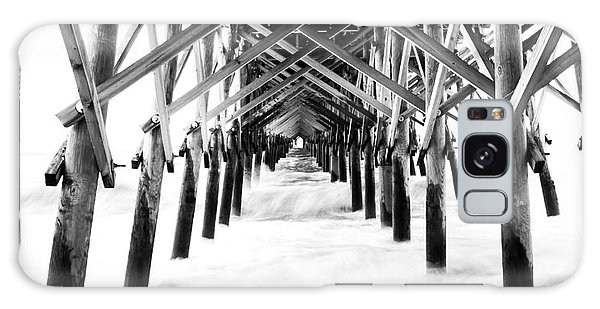 Under The Pier Folly Beach Galaxy Case