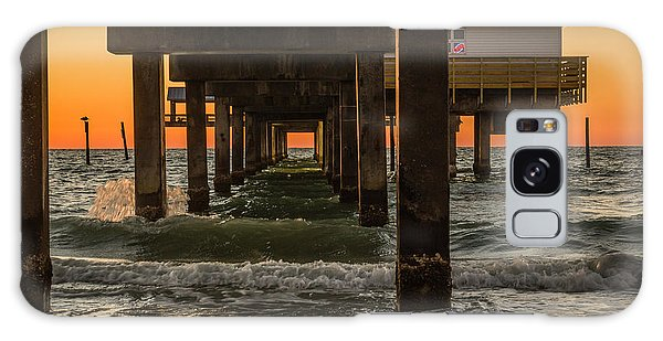 Under The Pier Galaxy Case by Jane Luxton