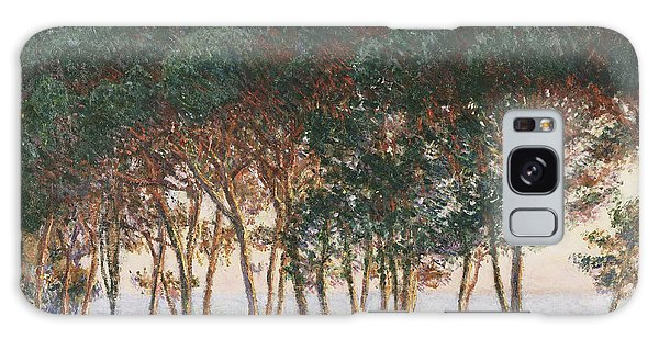 Under The Pines. Evening Galaxy Case by Claude Monet