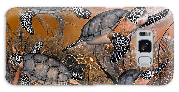 Turtle Galaxy Case - Under The Red Sea by Betsy Knapp