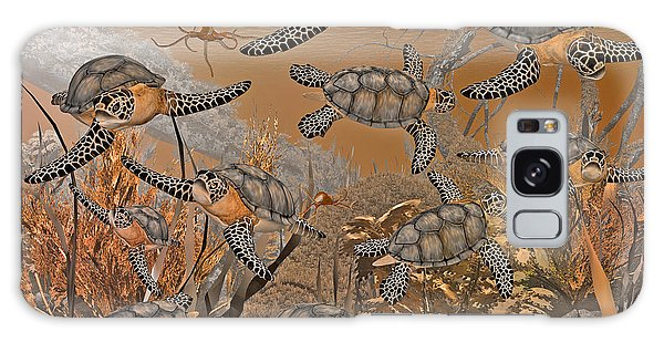 Turtle Galaxy Case - Under The Red Sea II by Betsy Knapp