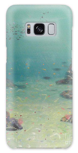 Under The Sea Galaxy Case by Pamela  Meredith
