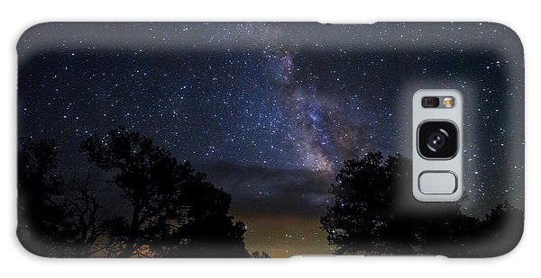 Under The Stars At The Grand Canyon  Galaxy Case