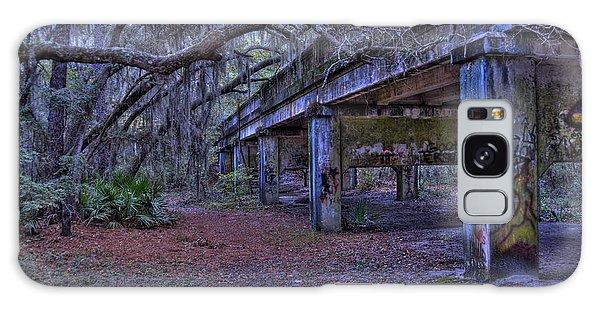 Under The Suwannee River Bridge Galaxy Case