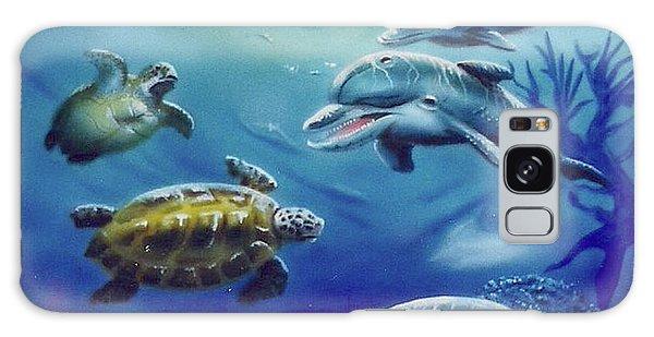 Under Water Antics Galaxy Case