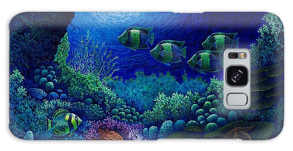 Undersea Creatures Iv Galaxy Case