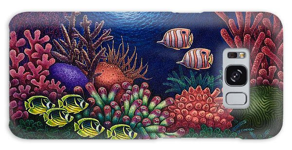 Undersea Creatures Vi Galaxy Case