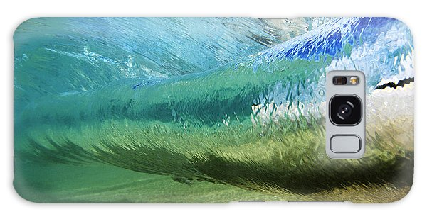 Beautiful Galaxy Case - Underwater Wave Curl by Vince Cavataio - Printscapes