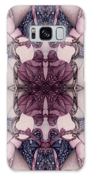 Undesignated Ballpoint Image Number Xxxiii Galaxy Case by Jack Dillhunt
