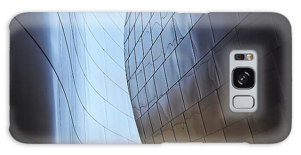 Walt Disney Concert Hall Galaxy Case - Undulating Steel by Rona Black