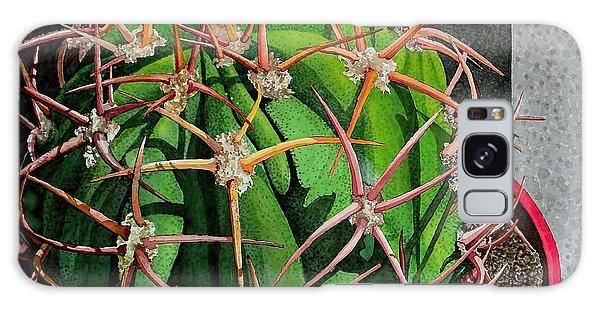 Unfriendly Succulent Plant Galaxy Case