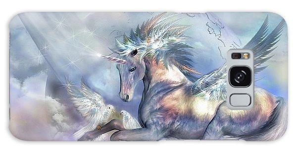 Unicorn Of Peace Galaxy Case