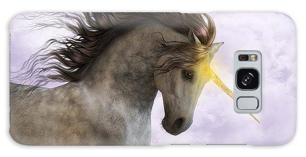 Unicorn With Magic Horn Galaxy Case