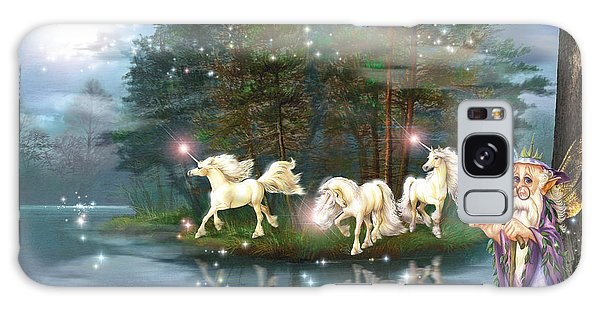 Fairy Pools Galaxy S8 Case - Unicorn Wizard Pool by MGL Meiklejohn Graphics Licensing