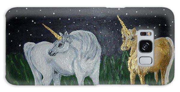 Unicorns For Julie Galaxy Case