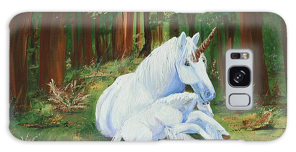 Unicorns Lap Galaxy Case