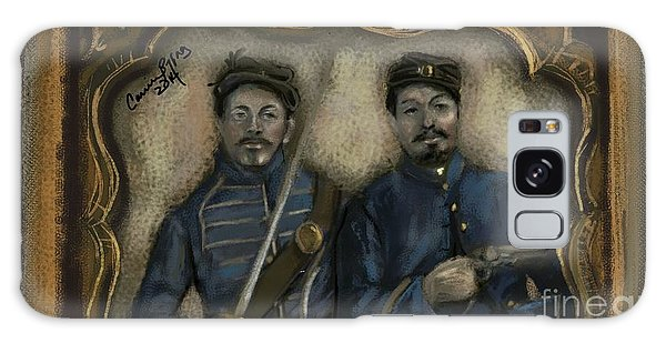 Us Civil War Galaxy Case - Unidentified Union Soldiers by Carrie Joy Byrnes