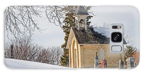 Union Cemetery Chapel Galaxy Case by Susan  McMenamin