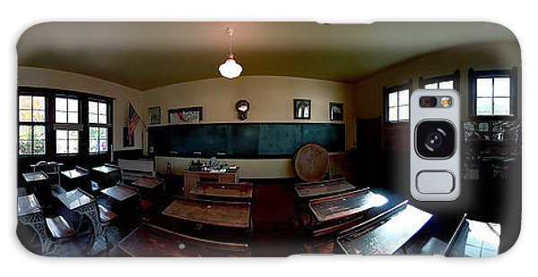 Union  Illinois One Room School House Galaxy Case