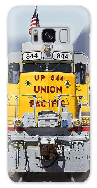 Union Pacific 844 On The Move Galaxy Case