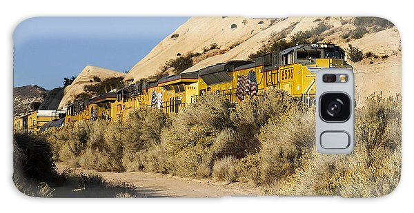 Union Pacific Rolling Through The Mormon Rocks Galaxy Case