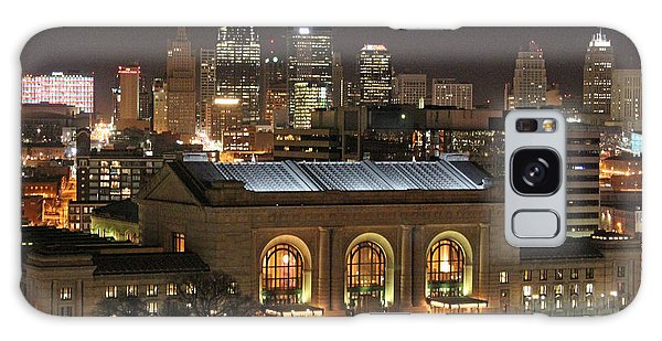 Union Station At Night Galaxy Case