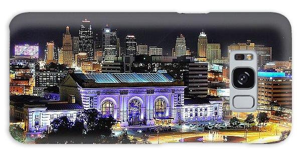 Union Station In Purple Galaxy Case