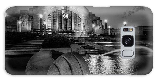 Union Terminal At Night Galaxy Case