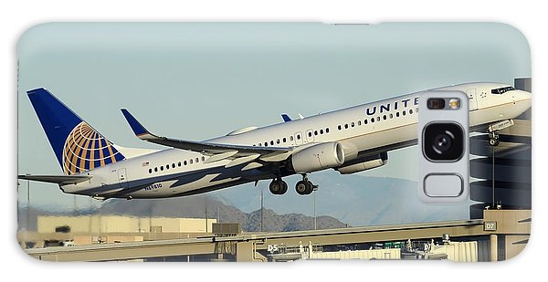 United Boeing 737-924 N69810 Phoenix Sky Harbor December 24 2014 Galaxy Case