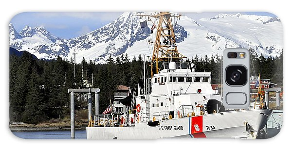 United States Coast Guard Cutter Liberty Galaxy Case by Cathy Mahnke