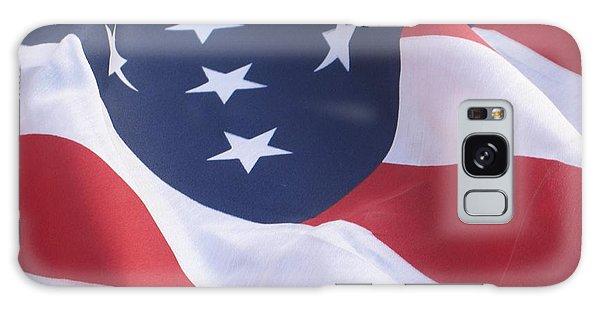 United States Flag  Galaxy Case by Chrisann Ellis