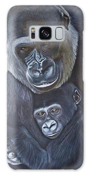 Galaxy Case - United - Western Lowland Gorillas by Jill Parry