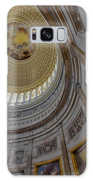 Galaxy Case featuring the photograph Unites States Capitol Rotunda by Susan Candelario